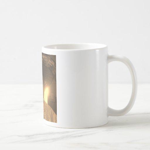 El un amigo tazas de café