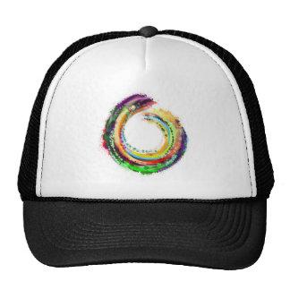 El un círculo del zen gorras de camionero