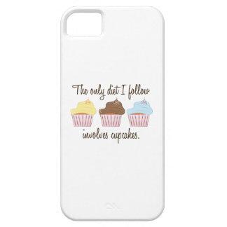 El único dietg que sigo implica los cupcakes. iPhone 5 protector