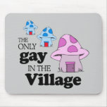 El único gay en el pueblo tapetes de raton