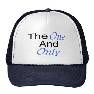 El único y solamente (azul) gorros