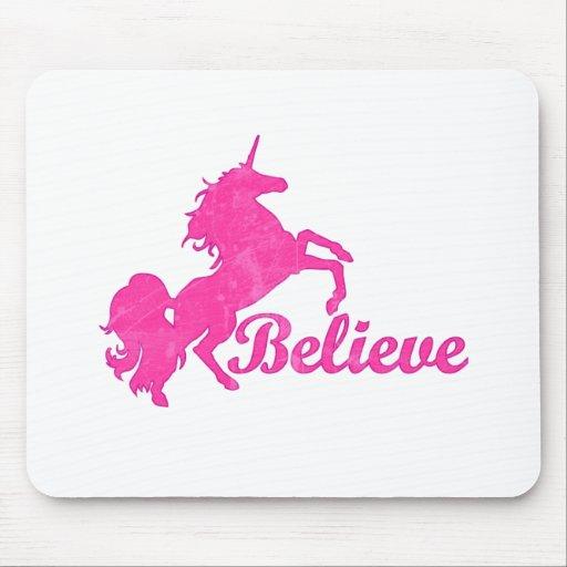 El unicornio, cree alfombrillas de ratón