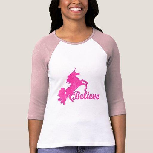 El unicornio, cree remera