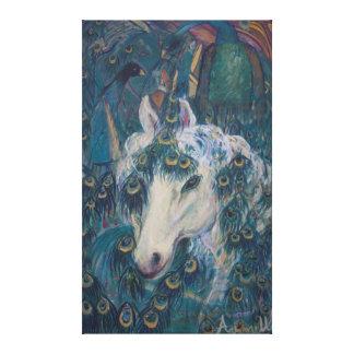 El unicornio de Nola Lona Envuelta Para Galerías