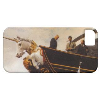 El unicornio del HMS construyó 1824 iPhone 5 Carcasa