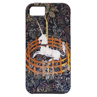 El unicornio en caso del iPhone 5 del cautiverio iPhone 5 Fundas