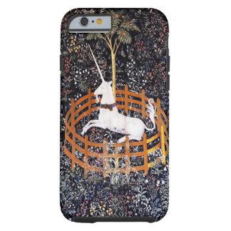 El unicornio en caso del iPhone 6 del cautiverio Funda De iPhone 6 Tough