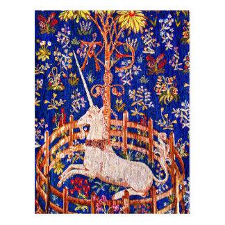 """""""El unicornio en cautiverio """" Postal"""