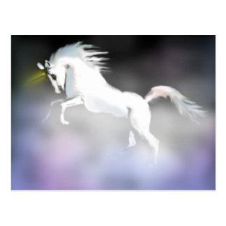 El unicornio en la niebla postales
