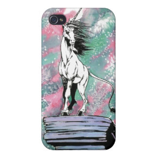 El unicornio encantado iPhone 4/4S carcasa