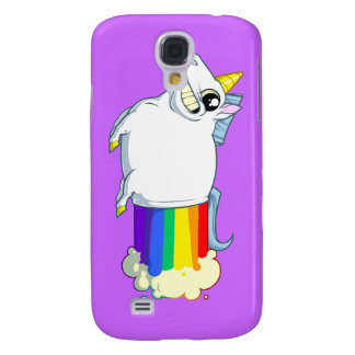 El unicornio Farts caso del iPhone 3 Funda Para Galaxy S4