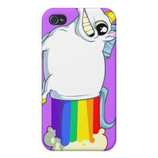 El unicornio Farts caso del iPhone 4 iPhone 4 Carcasas