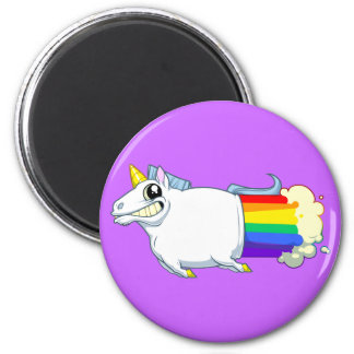 El unicornio Farts imán