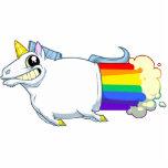 El unicornio Farts imán Esculturas Fotograficas