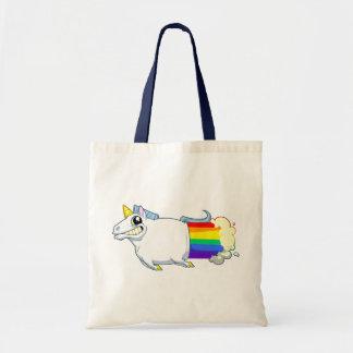 El unicornio Farts la bolsa de asas