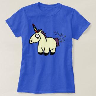 El unicornio Farts Playera