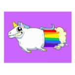 El unicornio Farts postal