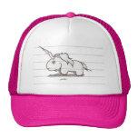 el unicornio gorros bordados