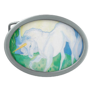 El unicornio hebillas cinturón