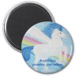 El unicornio Imán-Cualquier cosa es posible… apena