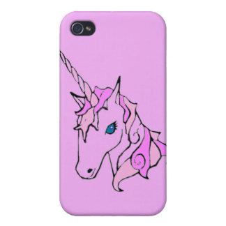 El unicornio mágico iPhone 4 funda