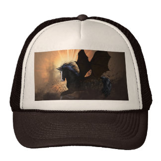El unicornio oscuro gorras de camionero