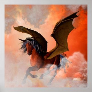 El unicornio oscuro póster