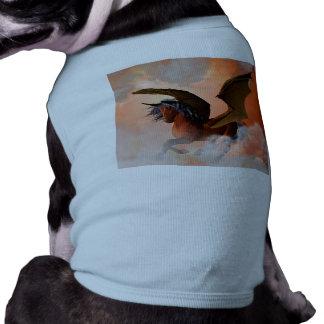 El unicornio oscuro camisetas de perro