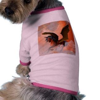 El unicornio oscuro camiseta de perrito
