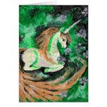 El unicornio pintado dedo felicitacion