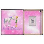 El unicornio y la hada apenas creen iPad cobertura