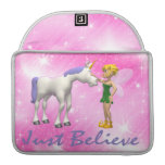 El unicornio y la hada apenas creen fundas para macbook pro