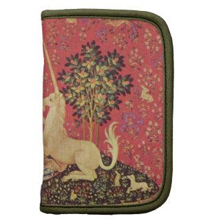 El unicornio y la imagen medieval virginal de la t planificadores
