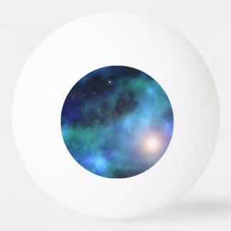 El universo asombroso pelota de ping pong