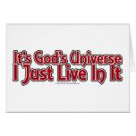 El universo de dios tarjetón