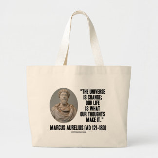El universo de Marco Aurelius es cambio que es Bolsa Tela Grande