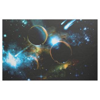 El universo de planetas telas