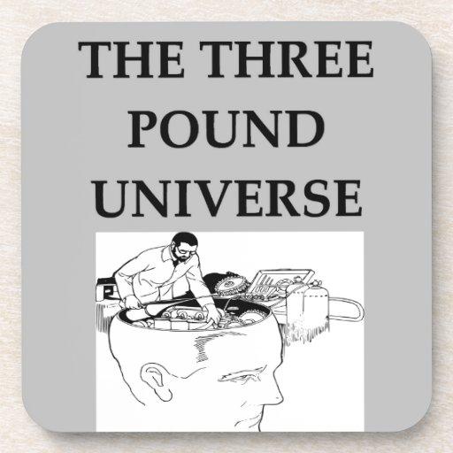 el universo de tres libras posavaso