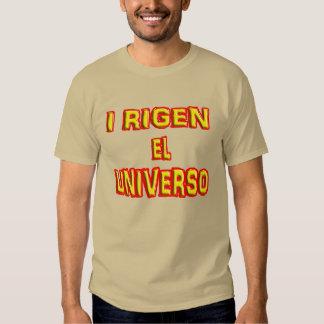 EL Universo del rigen I. Gobierno el universo Playera