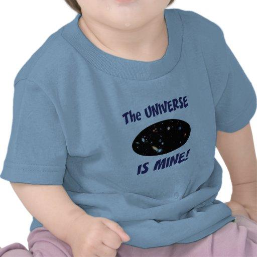 El universo es el mío camisetas