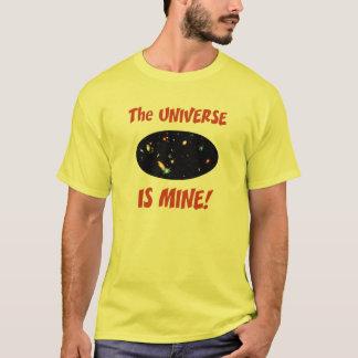 El universo es el mío playera