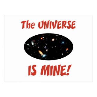 El universo es el mío postal