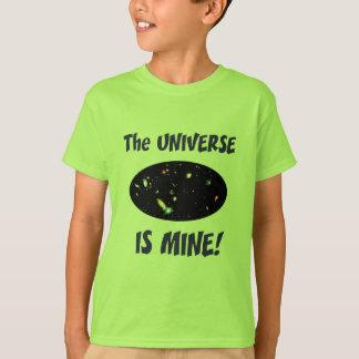 El universo es el mío remera