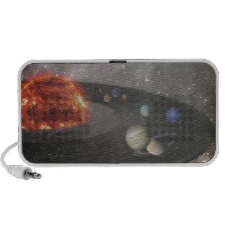 El universo musical iPod altavoz