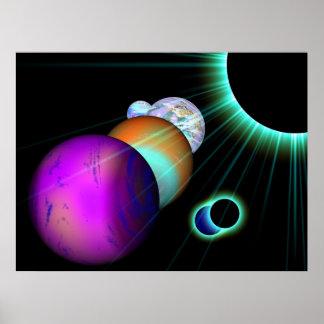 El universo poster