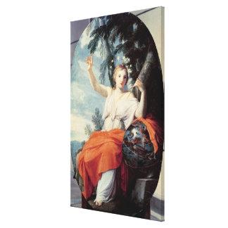 El Urania de la musa, 1646-47 Impresión En Lienzo