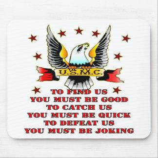 El USMC encuentra que cogernos nos derrotamos que  Alfombrillas De Raton