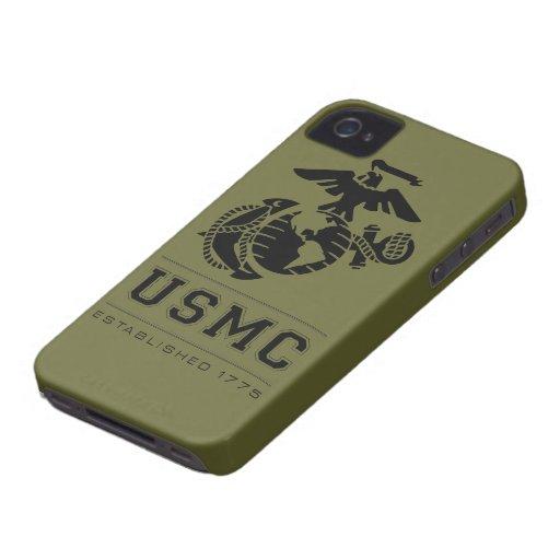 El USMC estableció 1775 Carcasa Para iPhone 4 De Case-Mate