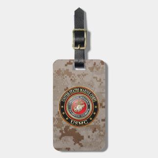 El USMC simboliza [la edición especial] [3D] Etiquetas Maletas