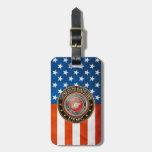 El USMC simboliza [la edición especial] [3D] Etiquetas Bolsas
